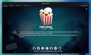 Popcorn Time no Ubuntu