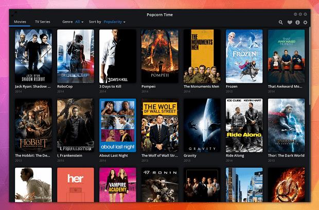 popcorn time 3 - Filmes em torrent com Popcorn Time 0.3: instale no Ubuntu e derivados