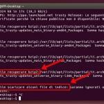 Como corrigir erros na atualização de repositório do Ubuntu