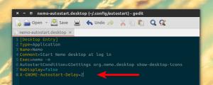 Como atrasar a inicialização de aplicativos nos ambientes GNOME e Unity