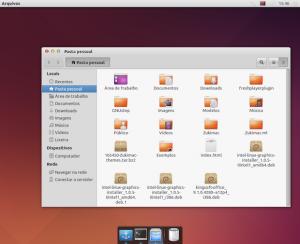 Ubuntu com um visual parecido com o Mac