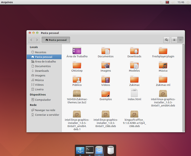 Deixe seu desktop Ubuntu parecido com o Mac