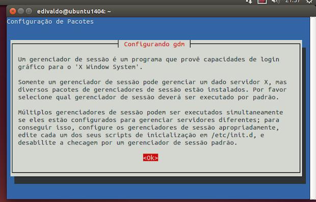 Como escolher o gerenciador de sessão padrão do Ubuntu, Debian e derivados