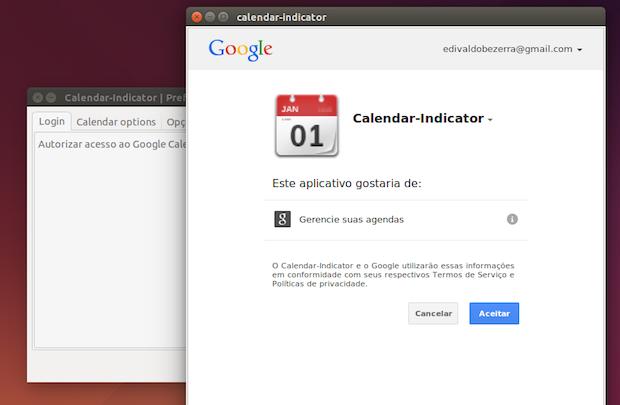 google calendar indicator