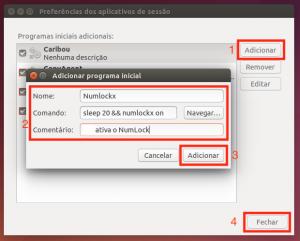 Como gerenciar a inicialização de aplicativos no Ubuntu