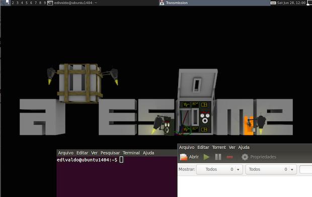 Não quero usar Unity, prefiro o Awesome no Ubuntu