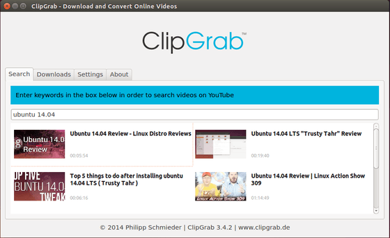 baixar vídeos clipgrab-youtube-downloader