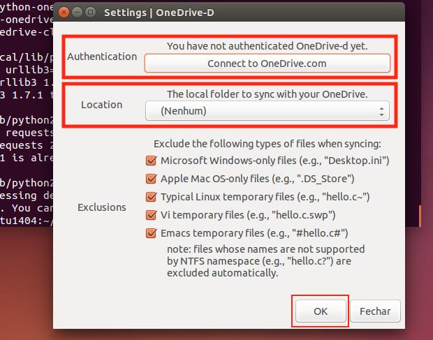 OneDrive no Linux: sincronize com o cliente não oficial OneDrive-D