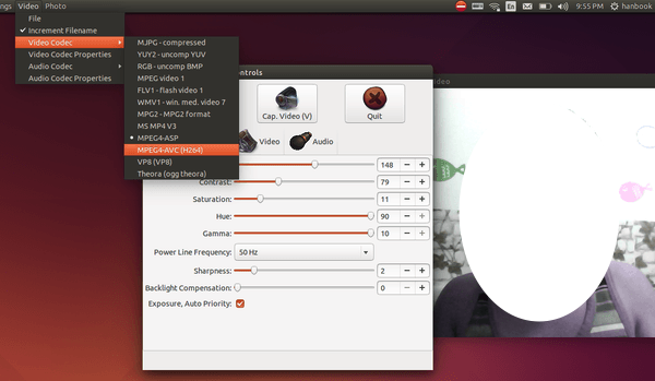 Como instalar o visualizador de webcam Guvcview no Ubuntu