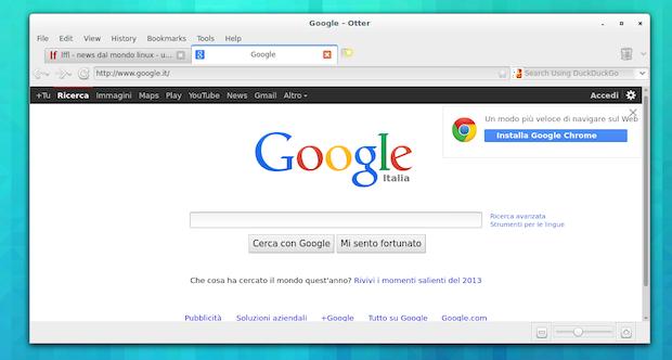Otter Browser no Ubuntu: uma versão alternativa do Opera 12.x