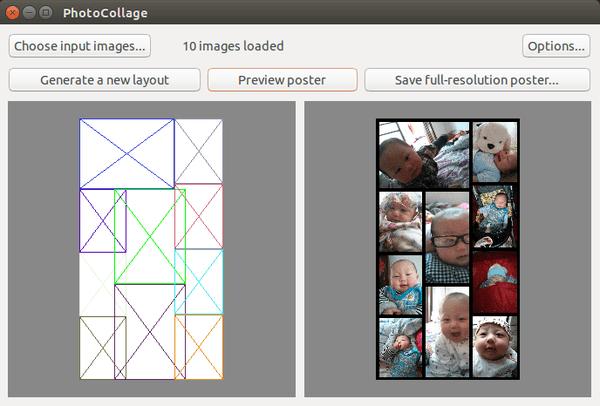 Faça colagem de fotos facilmente com Photocollage