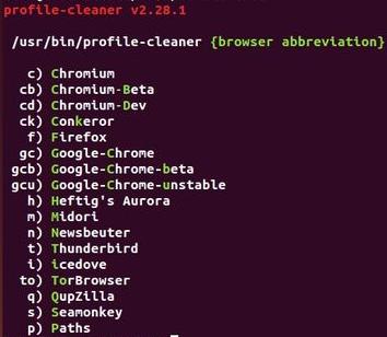 Instale o Profile Cleaner e reduza o tamanho dos perfis de navegadores