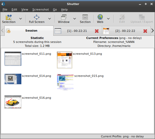 shutter no Ubuntu