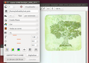 Como usar scanner de multifuncional HP no Ubuntu