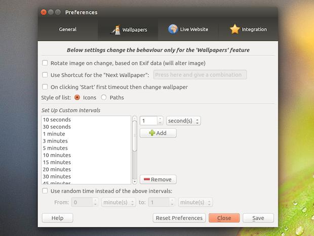 Papel de parede automático no Ubuntu com Wallch