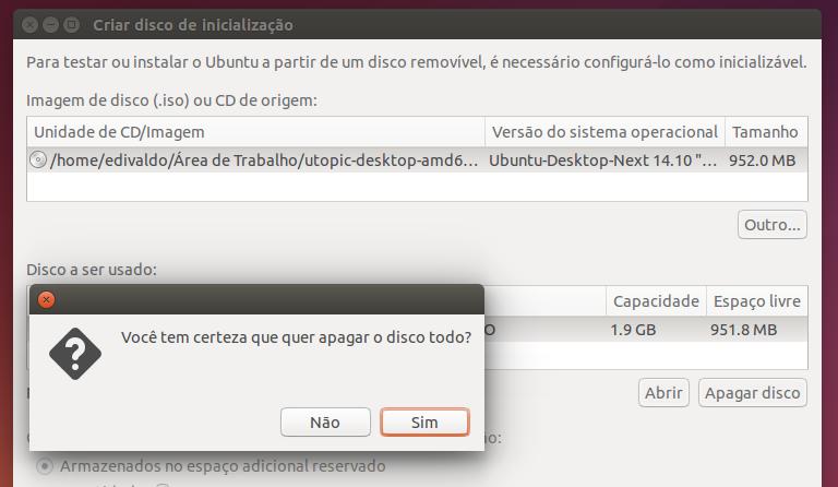 Como criar um pendrive de instalação do Ubuntu