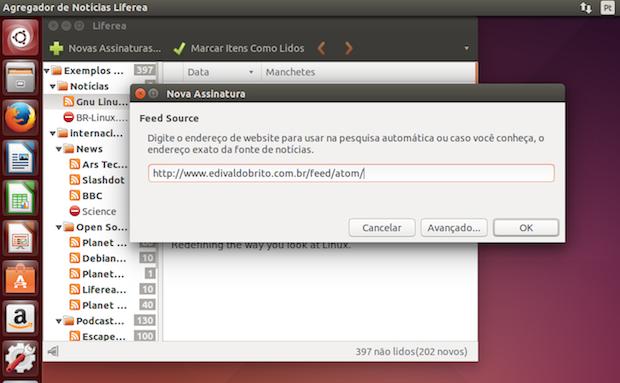 Como instalar o leitor de feeds Liferea no Ubuntu e seus derivados