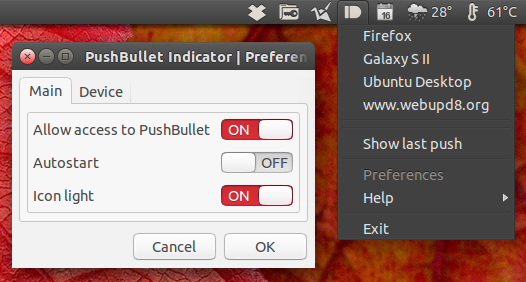 pushbullet-indicator