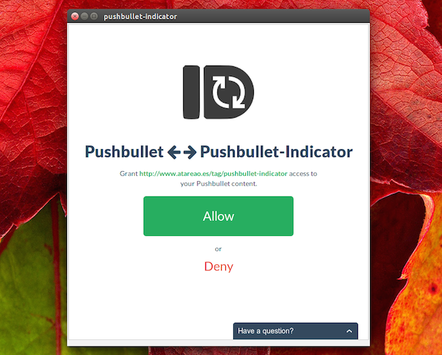 pushbullet-oauth