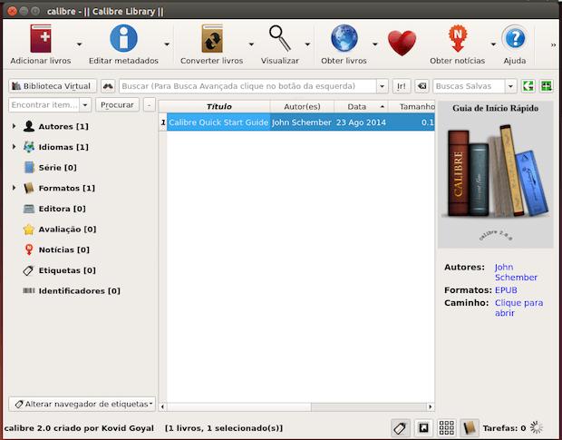 gerenciamento de livros digitais