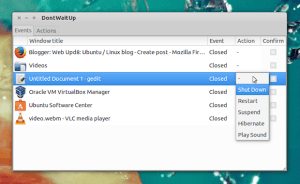 DontWaitUp: Faça o sistema executar uma tarefa quando uma janela mudar ou fechar