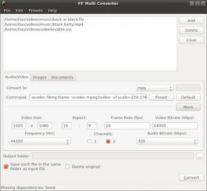 FF Multi Converter no Ubuntu