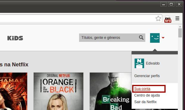 assistir nativamente os filmes do serviço Netflix no Linux