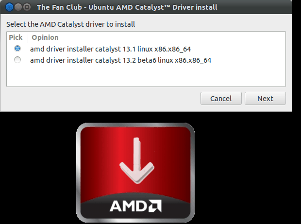 AMD Catalyst Install
