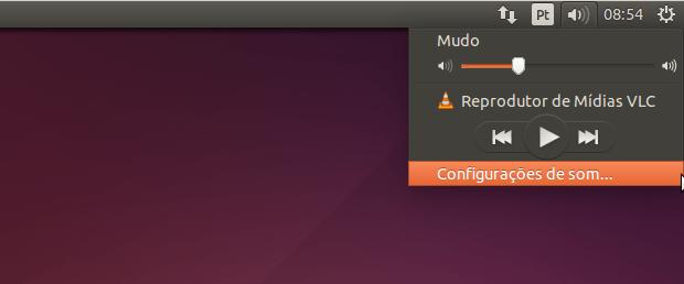 Como reduzir o volume do sistema de notificação no Ubuntu