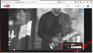 reprodução de vídeos do YouTube em 1080p