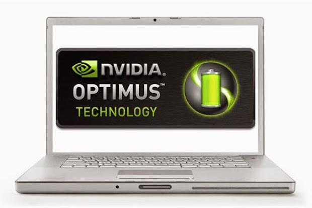 laptops com nvidia optimus