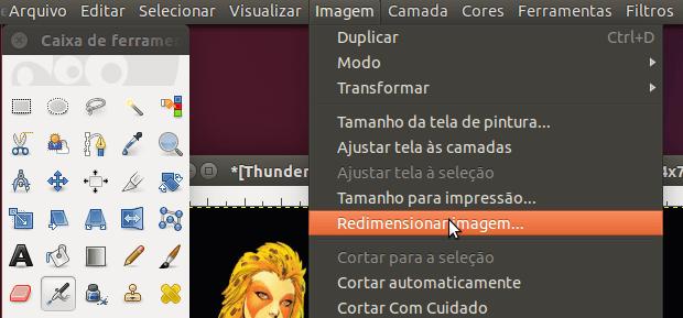 Como ampliar uma imagem sem perder qualidade usando o GIMP