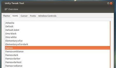 Instale o conjunto de ícones Faenza no Ubuntu