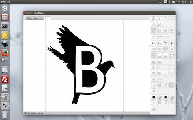 birdfont_font_editor