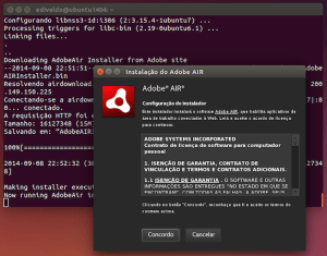 Como instalar o Adobe Air no Linux