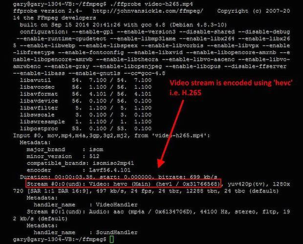 Como codificar vídeo H.265 usando FFmpeg no Linux (4K e 8K)