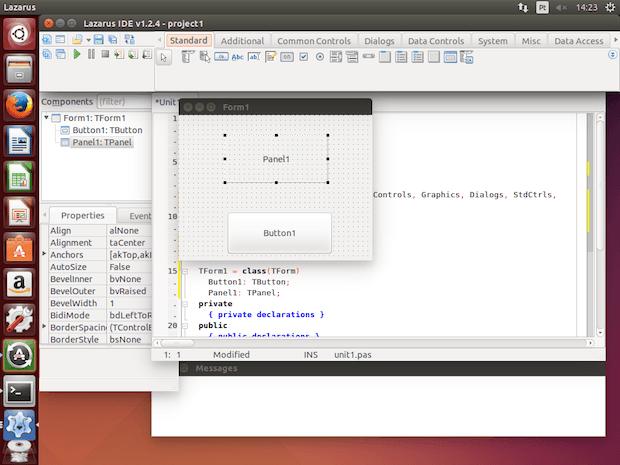 Como instalar a IDE Lazarus no Ubuntu