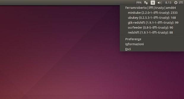 Instale o Indicator PPA Download Statistics no Ubuntu e derivados