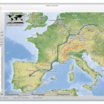 Alternativa ao Google Earth: Instale o Marble no Linux