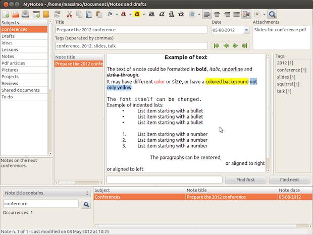 Alternativa ao Evernote no Linux: Instale MyNotex no Ubuntu