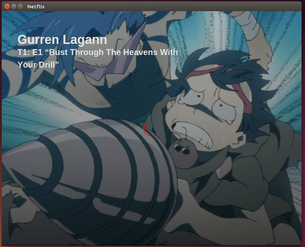 Netflix no Linux: Executando o serviço como um app
