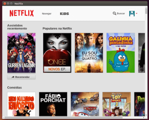 Netflix do Windows no Ubuntu Linux