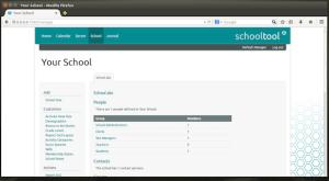 Ferramenta para gerenciar escolas: Instale SchoolTool