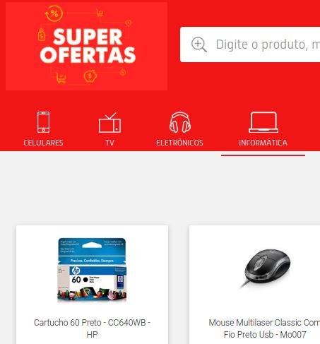 super ofertas - Loja Blog do Edivaldo