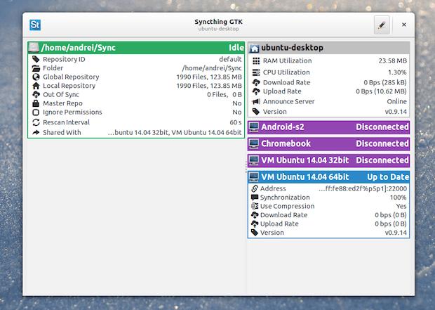 sincronizar arquivos