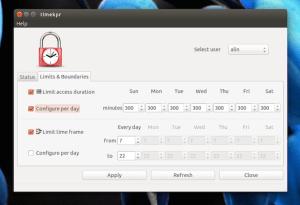 Instale a ferramenta de controle parental TIMEKPR no Ubuntu