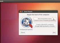 Como instalar o Boot Repair no Ubuntu