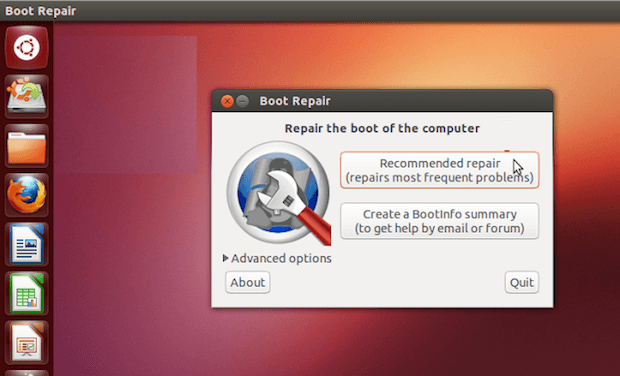 Como instalar o Boot Repair no Ubuntu