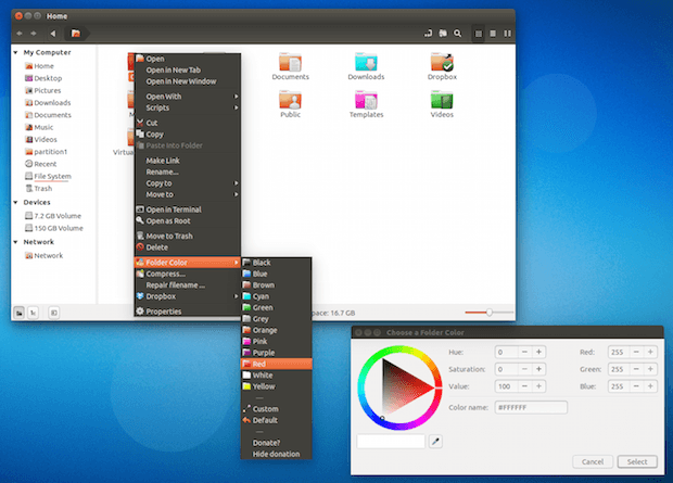 folder color nemo - Como instalar o conversor DirectPDF no Linux via Snap