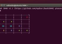 Como jogar 2048 no terminal do Linux